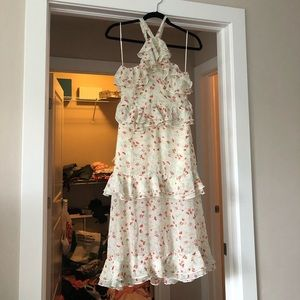 Urban outfitters floral midi dress